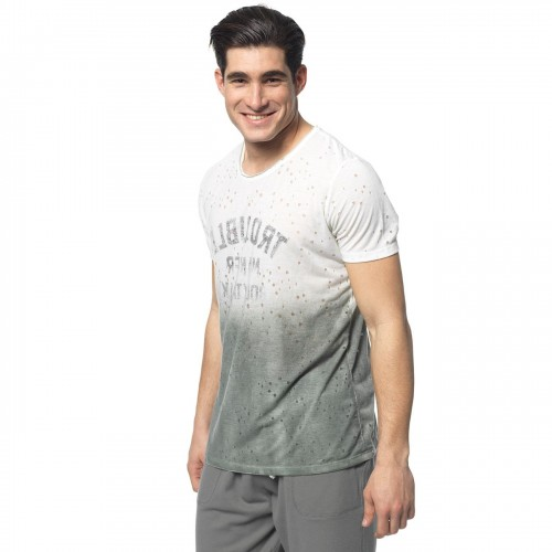 BODY TALK T-SHIRT MEN D.I.Y.M ΜΠΛΟΥΖΑ 1181-953828-00623