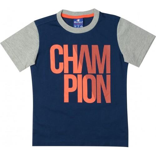 Champion Crewneck T-Shirt Παιδική Μπλούζα MNB/OXGM 304617-BS508